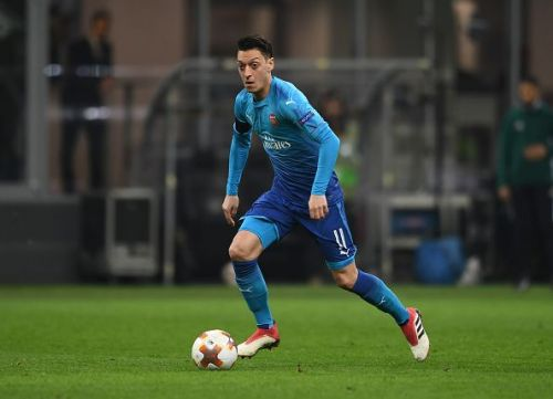 Ozil was unstoppable on the night and helped Arsenal flourish