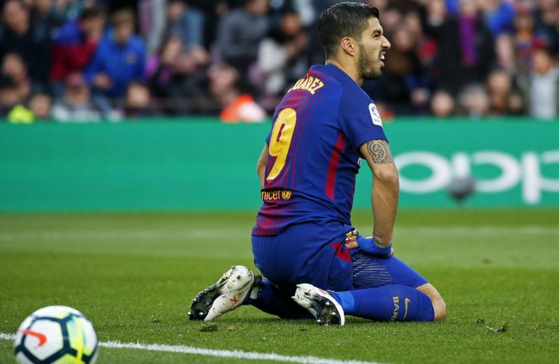 Suarez has struggled to hit the heights of his previous campaigns with Barca