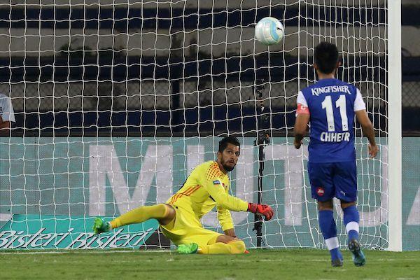 Sunil Chhetri scored a