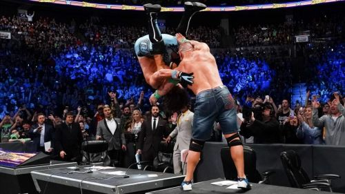 Who is the WrestleMania 34 opponent for one John Cena?