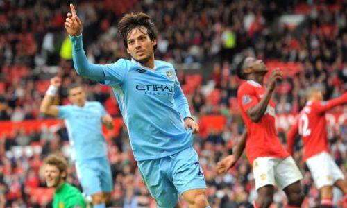 David Silva Manchester Derby 2011
