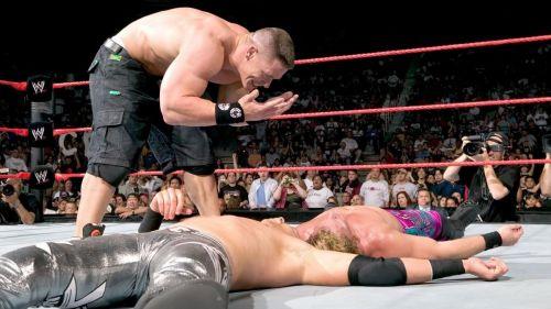 John Cena with his