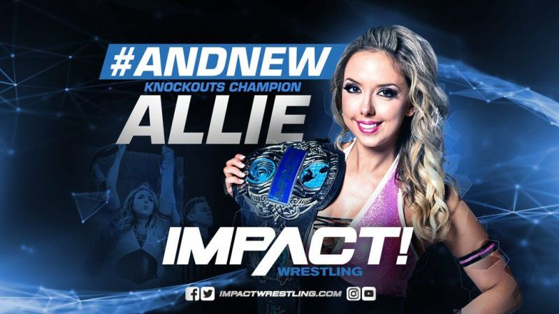 Impact Wrestling News Allie Wins The Impact Wrestling