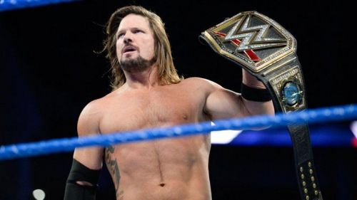 AJ Styles is a two-time and current WWE Champion