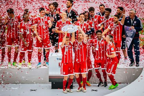 Bayern Munich have won the league a record 27 times