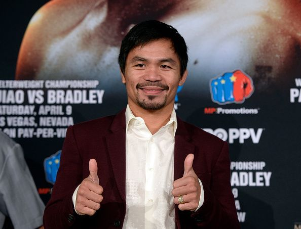 Manny Pacquiao v Timothy Bradley Media Tour