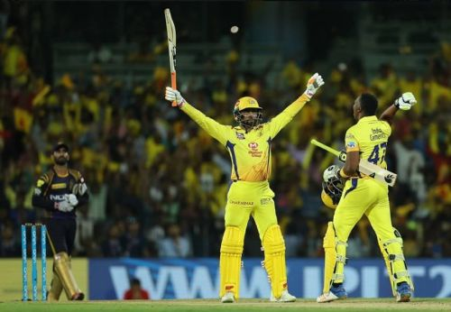 Dwayne Bravo gave away 50 runs from his three overs (Image: FB/CSK)