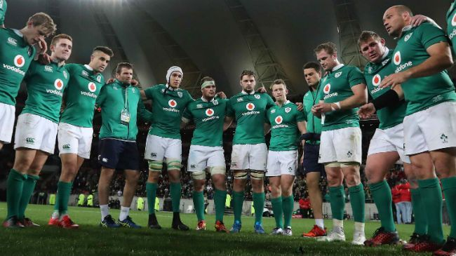 team How should  play Irish union the national Rugby