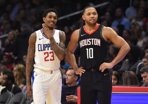 Is the race only between Lou Williams and Eric Gordon?