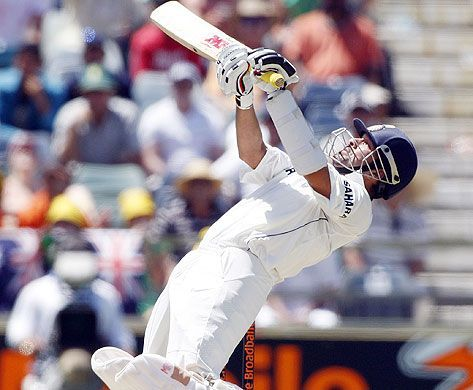 Sachin played the upper-cut to utmost perfection.