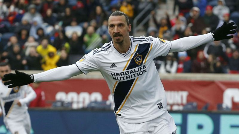 Zlatan Ibrahimovic scored a phenomenal goal on his debut for LA Galaxy recently