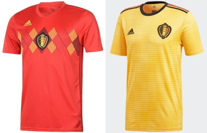 3ece51342ec Page 7 - World Cup 2018 Kits: Home & Away Jerseys of All 32 teams