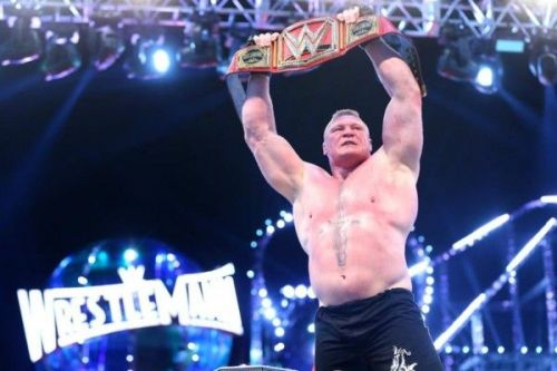 Lesnar retained at WM 34...but where to from here?