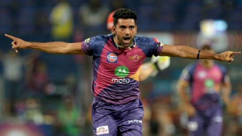 Deepak Chahar impressed on his CSK debut