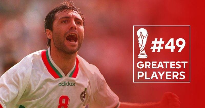 9d67f830b26 50 Greatest players in World Cup History   49 Hristo Stoichkov
