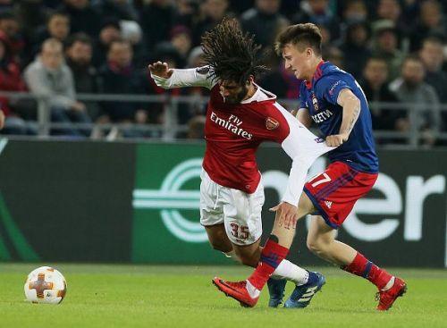 CSKA Moskva v Arsenal FC - UEFA Europa League Quarter Final Leg Two
