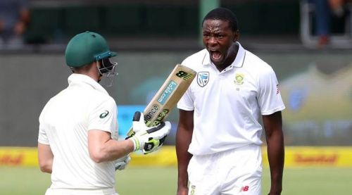 Kagiso Rabada is the no. 1 test bowler right now with an impressive rating of 889 points.