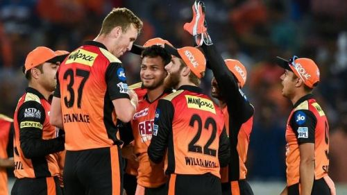 SunRisers Hyderabad are currently on top of the points table
