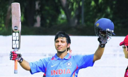 Ankush Bains played for India in the U-19 world cup 2014