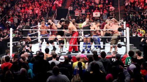 The most chaotic match in WWE - Royal Rumble