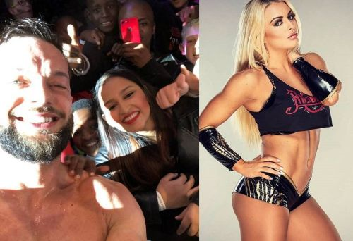 Finn Balor met several fans, while Mandy Rose supported her team-mate in the latter's title matchup in Pretoria