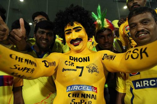 Image result for CSK paint man