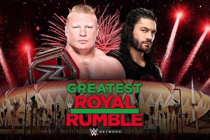 Brock Lesnar defends against Roman Reigns next week in Saudi Arabia