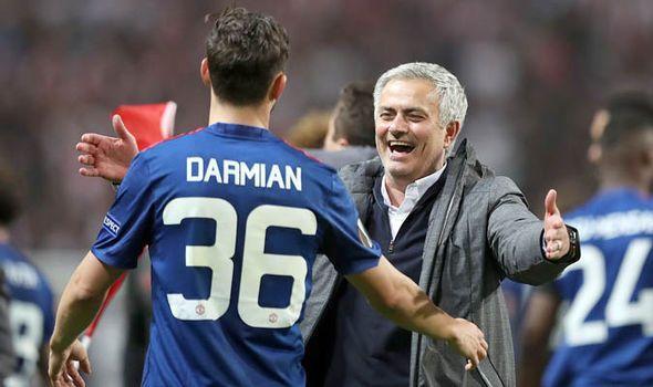Image result for matteo darmian mourinho