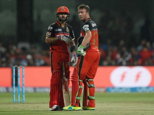 Kohli-de Villiers, along with de Kock, have done the bulk of batting for RCB.