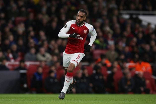 Lacazette could not find the net this match