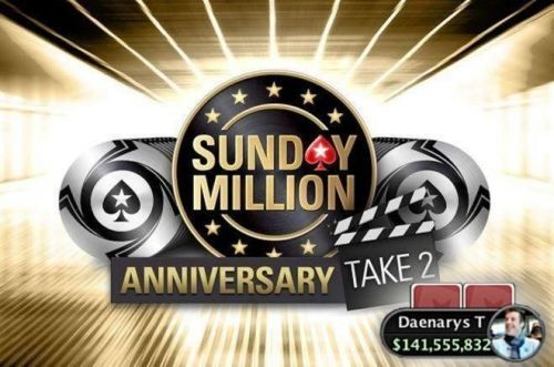 Holland's Daenarys T takes home the first prize money at the Sunday Million Anniversary Take 2