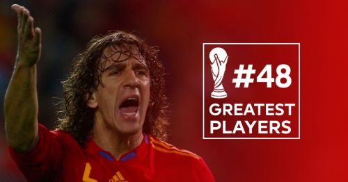 50 Greatest players in World Cup History 48 Carles Puyol