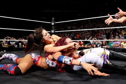 Sasha Banks vs. Bayley at NXT Takeover: Brooklyn was an iconic match that remains WWE's greatest women's feud