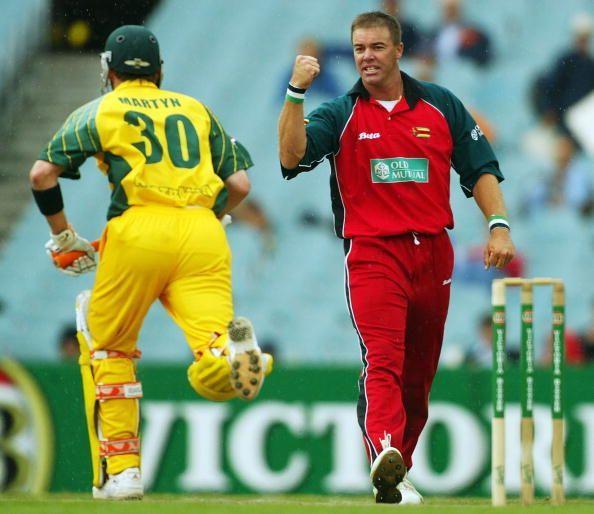 Cricket - ODI , Australia v Zimbabwe