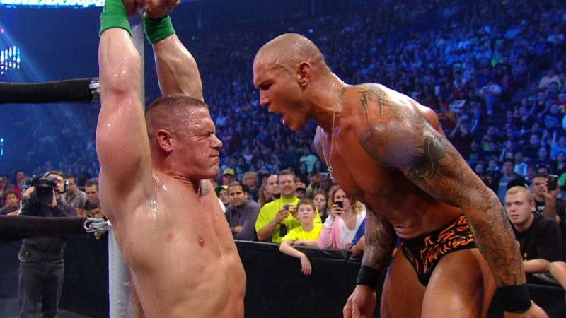 Image result for wwe orton vs cena