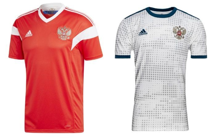 World Cup 2018 Kits  Home   Away Jerseys of All 32 teams fb98ca662