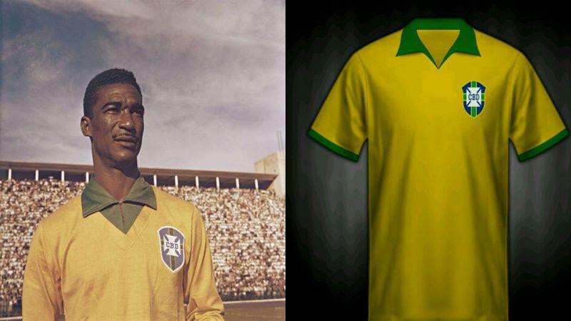 the best attitude 4fa97 6ea94 Page 2 - Brazil World Cup Kits History (1930-2018)