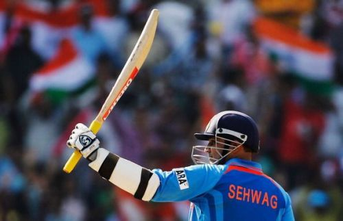 Virender Sehwag played for Delhi Daredevils and Kings XI Punjab in the Indian Premier League.