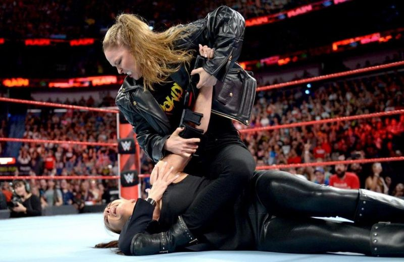 Report: WWE wants Ronda Rousey vs. Stephanie McMahon at