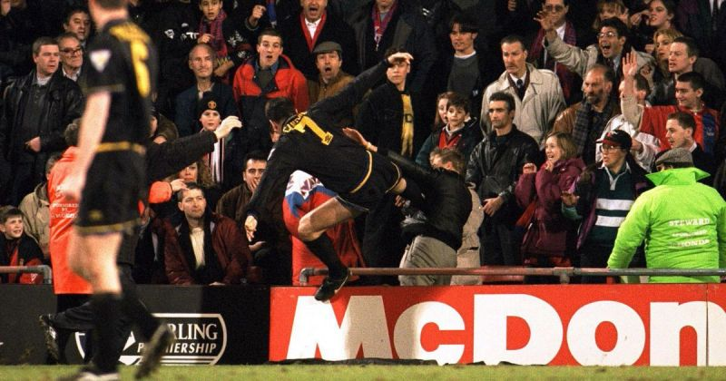 Ferguson stood by Eric Cantona after his infamous kung-fu kick and it was a gamble that paid off
