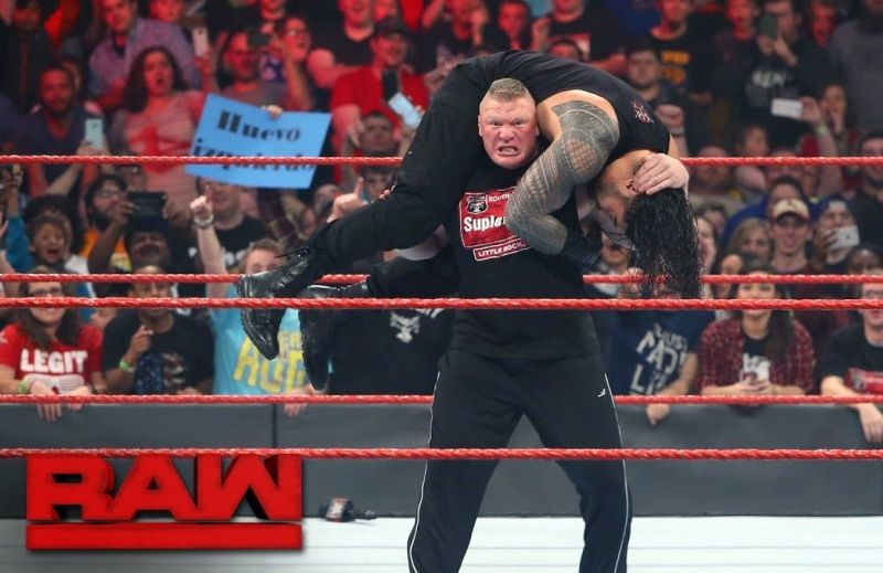 Brock Lesnar is indeed portrayed as a special attraction in the WWE
