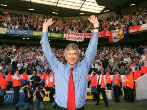 Wenger will go down in history as an absolute legend of the game.