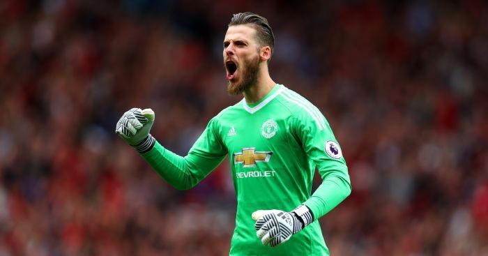 De Gea has been a rock under the bar for United