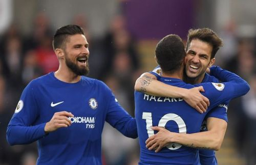 Chelsea narrowly edged out Swansea at the Liberty Stadium
