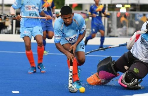 Both the Indian men's and women's teams made it to the semifinals.