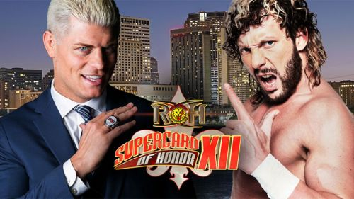 Cody Rhodes and Kenny Omega squared-off in a grudge match on the evening