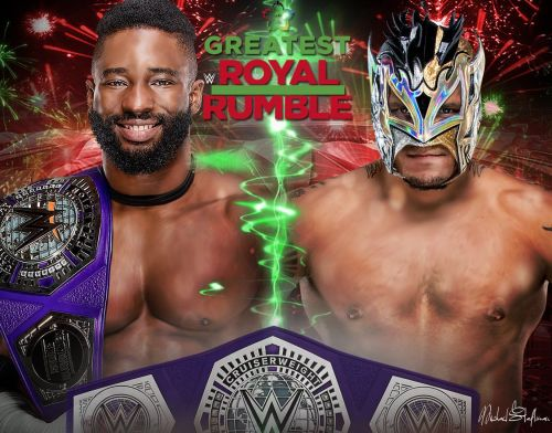 Just a one-off match before things kick-off on 205 Live.