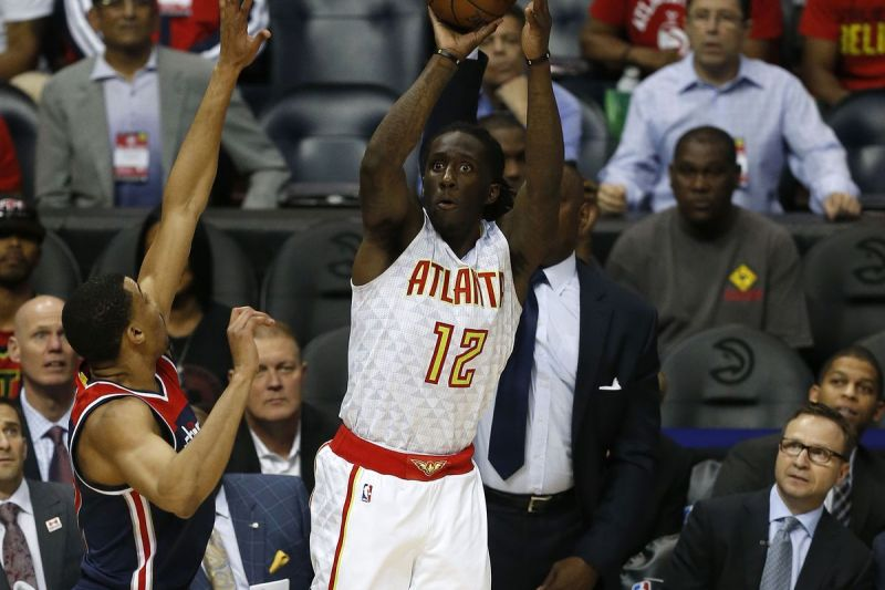 Prince has been one of the few Hawks players who have impressed this season