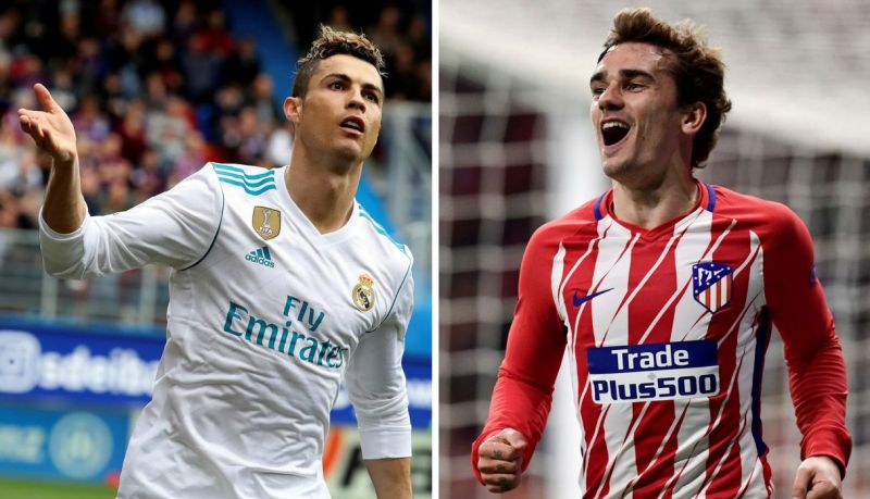 Real Madrid played host to Atletico in the Madrid derby