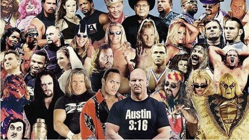 WWE Superstars of The Attitude Era at one glimpse.